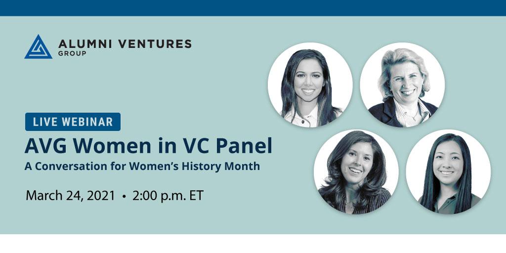 Live Webinar: AVG Women in VC Panel